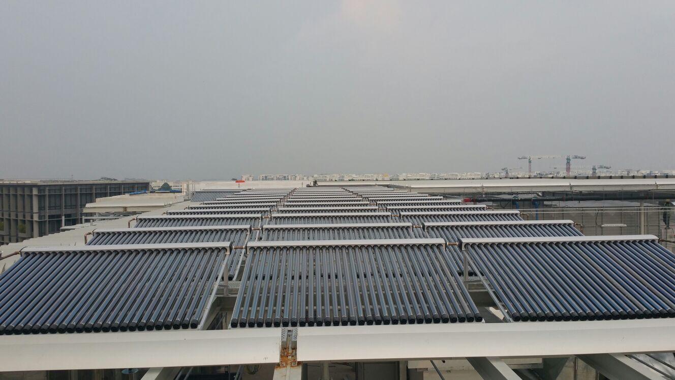 Yishun Community Solar Thermal Installation